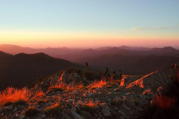 BEARMAN Montagne Sunset Image