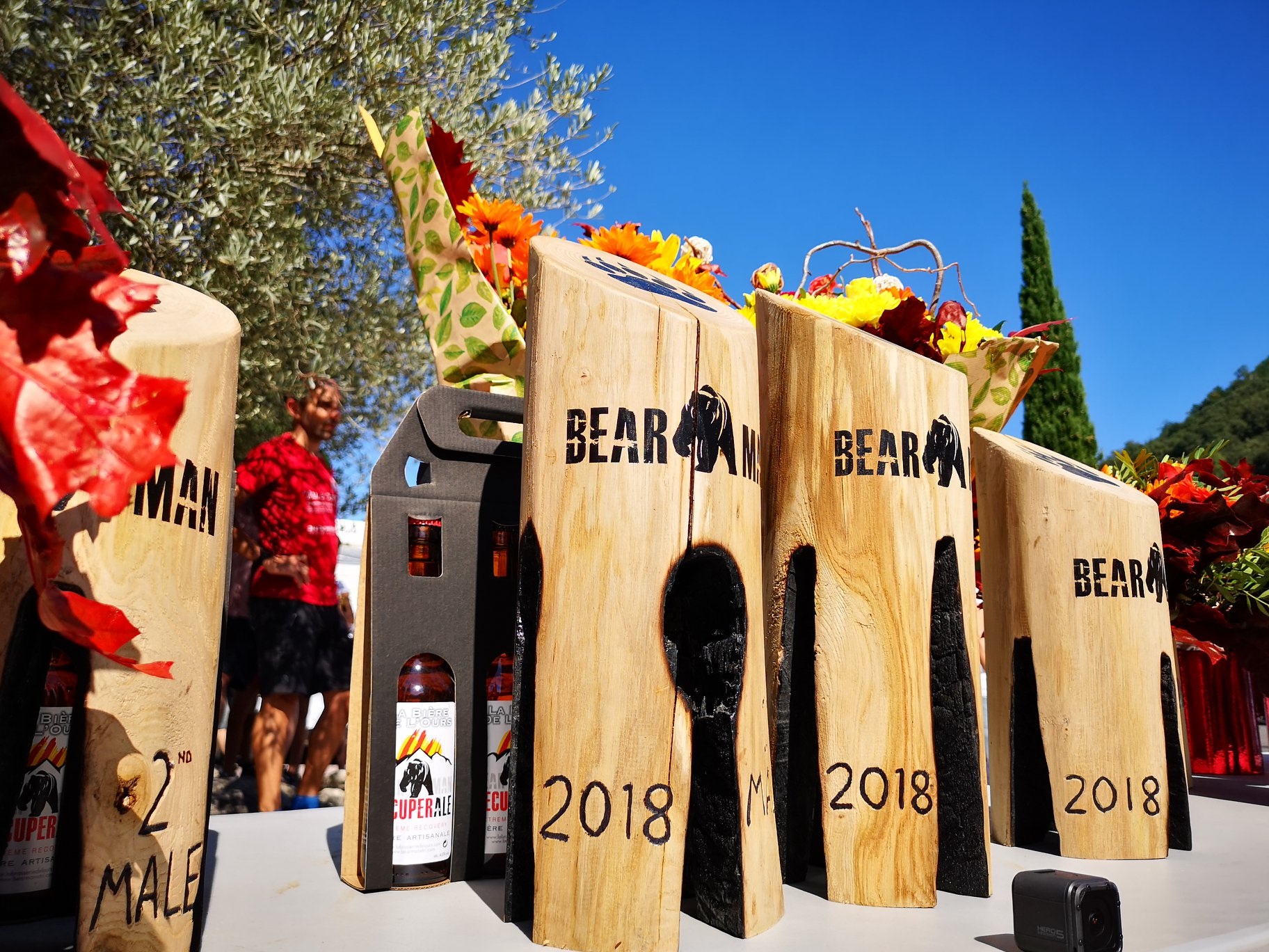 BEARMAN 2018 trophies